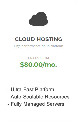 SiteGround Cloud Hosting.