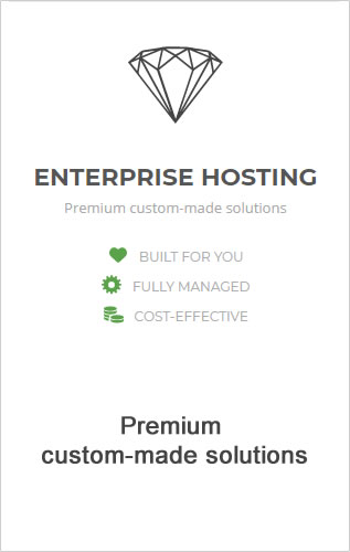 SiteGround Enterprise web hosting.